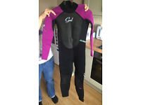 Girls Gul Wetsuit and Life Jacket