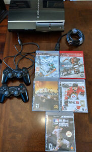 Sony Playstation 3 Console + Games
