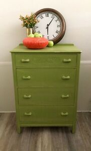 Gorgeous Green chest of drawers