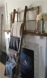 FARMHOUSE BLANKET LADDER
