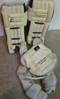 Classic goalie pads and chest protector (Late 70's)