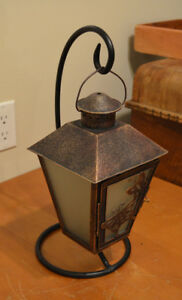 PARTY LITE: Lantern+Stand PLUS Electric Aroma Melter