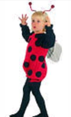 LADY BIRD TODDLER/CHILDS/WORLD BOOK DAYUGLY BUG BALL FANCY DRESS OUTFIT AGE 3