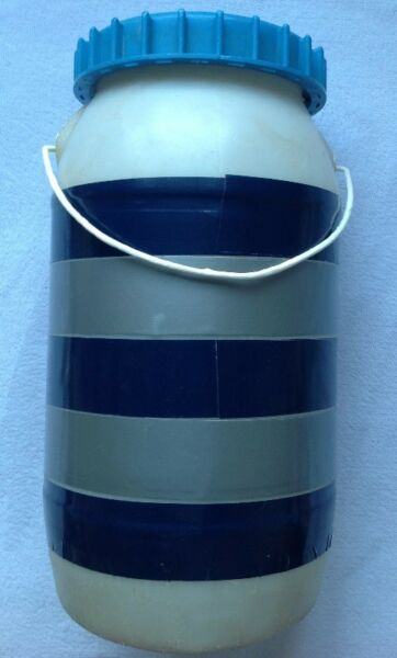 Olde refurbished Capsize Canister / Safety Container