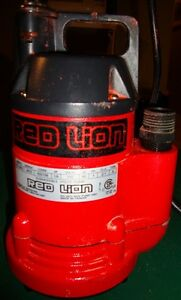 Red Lion Submesible Pump Model RL 160U NEW