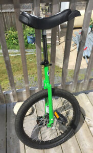 Acid Green Unicycle: Excellent Condition