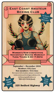 Women's Non-competitive Boxing Workout!