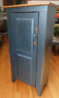 Antique bois pin armoire / bookshelf in pine wood. EXCELLENT