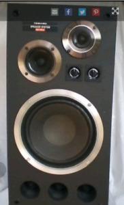 Toshiba SS-707W Speakers
