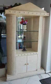 Nick Scali Fossil Display Cabinet / Cupboard