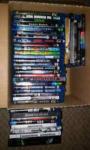 Lots of Blu-Ray for sale... Like New!! (125$ for everything)