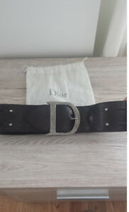Authentic Christian DIOR Belt for sale