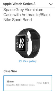 Apple Watch Series 3 Nike +