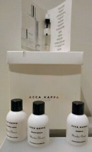 Acca Kappa Muschio Bianco (White Moss) - travel toiletry set