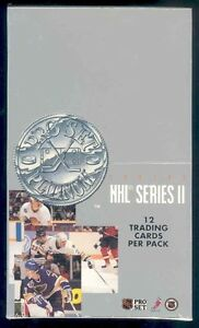 1991-92 PRO SET PLATINUM hockey ... SERIES 2 .. with CELEBRITIES