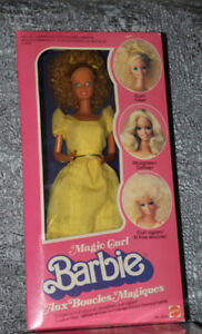 Vintage Magic Curl Barbie (1981) # 3856