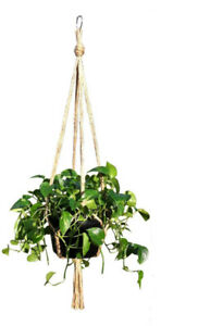 Plant Hanger Holders Large for Indoor and Outdoor Jute 48 Inch