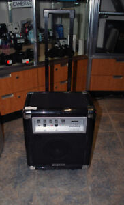 Sylvania Bluetooth PA System with Microphone and FM Radio