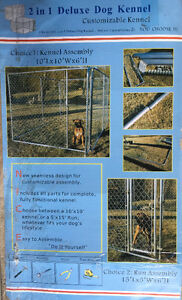Dog Kennel Chain Link Fence Style