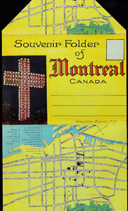 Ten Unused 'Montréal, Quebéc' Post Cards + Two Souvenir Folders Kingston Kingston Area image 7