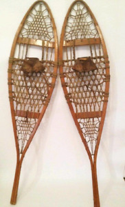 WANTED: Woden snowshoes