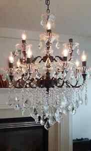 Gorgeous Crystal Chandelier
