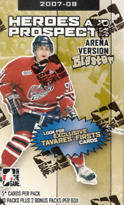 2007-08 ITG Heroes & Prospects 12 Pack Box