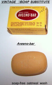 """VINTAGE: Aveeno oatmeal $10, medically recommended """"soap"""""""
