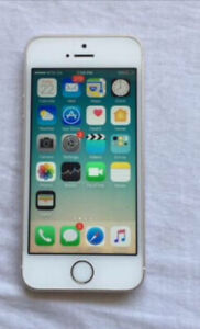 Mint iPhone 5s white with case !  UNLOCKED
