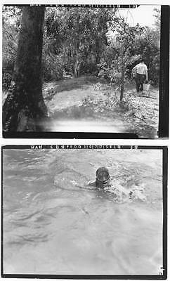 2 Johnny Weismuller TARZAN FINDS A SON vintage 1939 B&W photos behind-the-scenes
