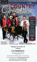 Scott Woods Country Christmas Concert