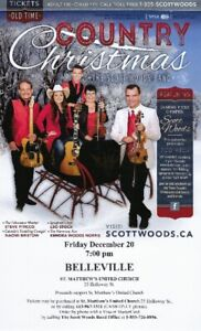 "SCOTT WOODS ""OLD TIME COUNTRY CHRISTMAS"" CONCERT"
