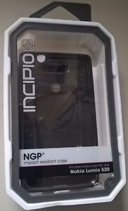Incipio NGP Impact Resistance Case for Nokia Lumia 520 Black