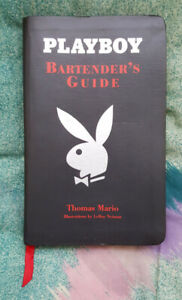 Playboy Bartender's Guide by Thomas Mario - EXCELLENT CONDITION