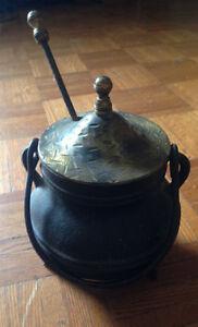 Cast Iron fire starter smudge pot Kitchener / Waterloo Kitchener Area image 1