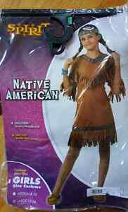 Girl Native American Costume size 12-14