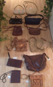 Genuine leather purses $15 and up