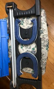 For Sale Complete Horse Shoe Set in Carrying Case-excellent cond
