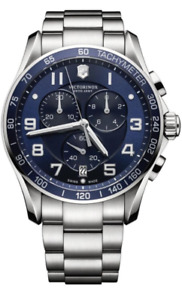 Victorinox Swiss Army Blue Dial Men's Watch Montre Homme