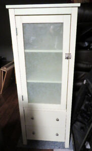 Tall Cabinet with secure latch