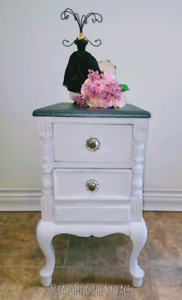 Pretty French Provincial Side Table