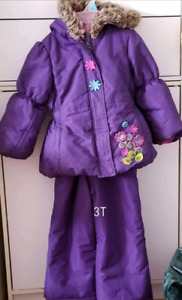 Size 3t ..2 PC snowsuit