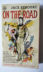 """On The Road"" by Jack Kerouac 1ST paperback edition 1958"