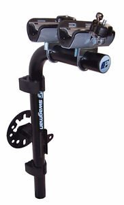 Two bike rear spare tire mount and carrier