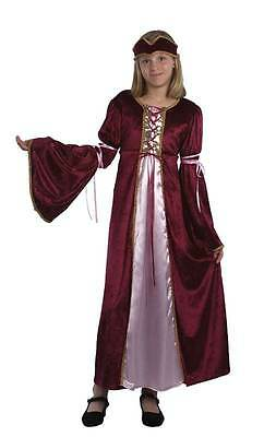 RENAISSANCE PRINZESSIN, GROß, KOSTÜM KINDER - Renaissance Prinzessin Kinder Kostüm