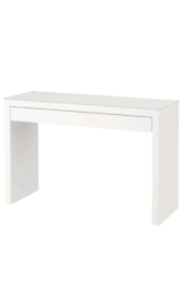 Ikea dresser/table and glass top