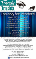 Looking for ALL vendor Types - Central Alberta