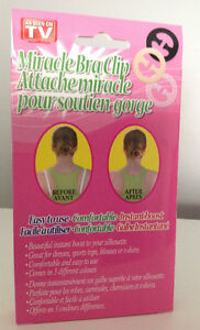 **BRAND NEW** Miracle Bra Clip As Seen On TV - 9 in a pack Cambridge Kitchener Area image 3