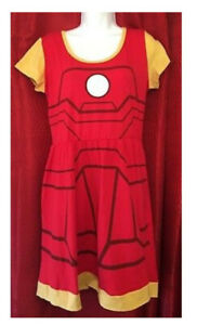 Iron Man infant, mommy and daddy costume