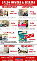Established Salon and Spa Businesses For Sale in GTA..Call Us